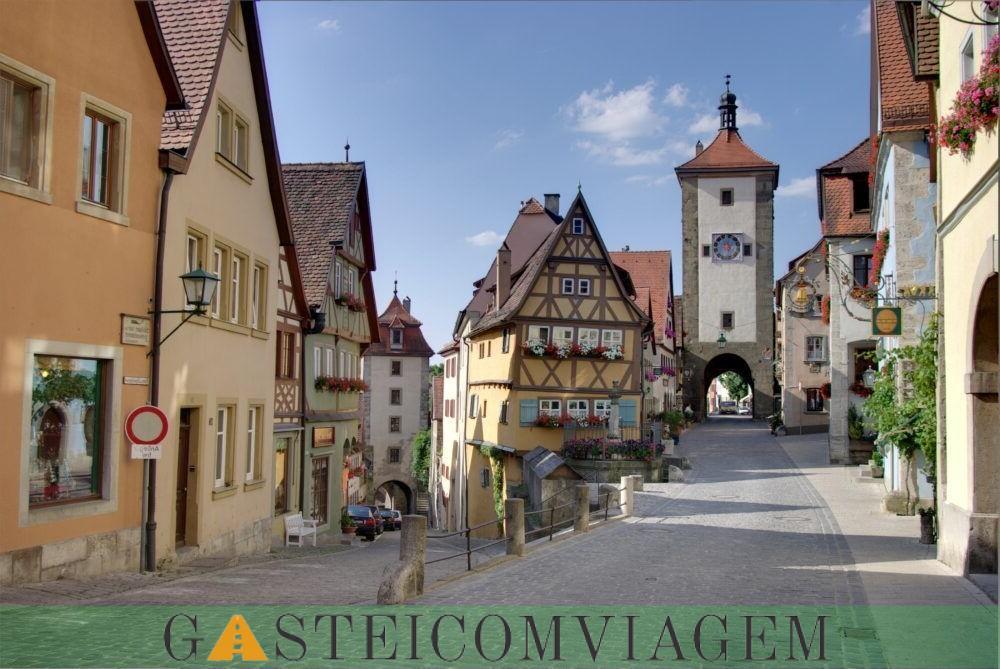 excursão para Rothenburg ob der Tauber