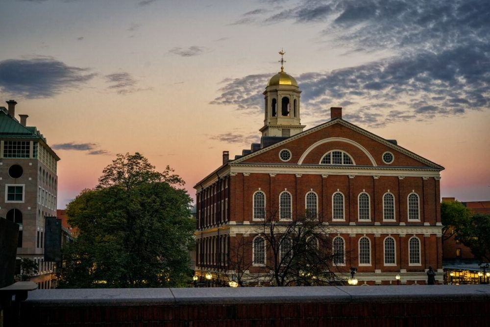 Faneuil Hall em Boston