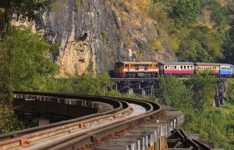 ferrovia Thai Birmânia