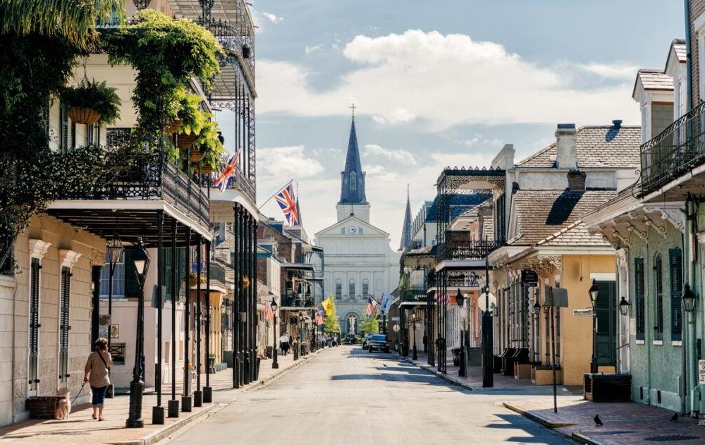 French Quarter em New Orleans