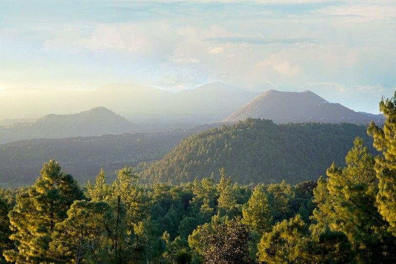Guanajuato volcánico campo michoacan