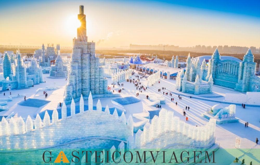 Harbin Ice e Escultura Neve Festival