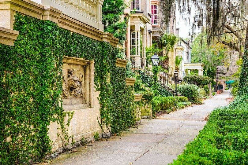 Histórico distrito de Savannah
