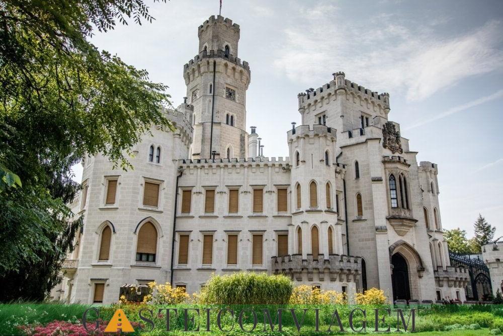 Hluboka Castelo