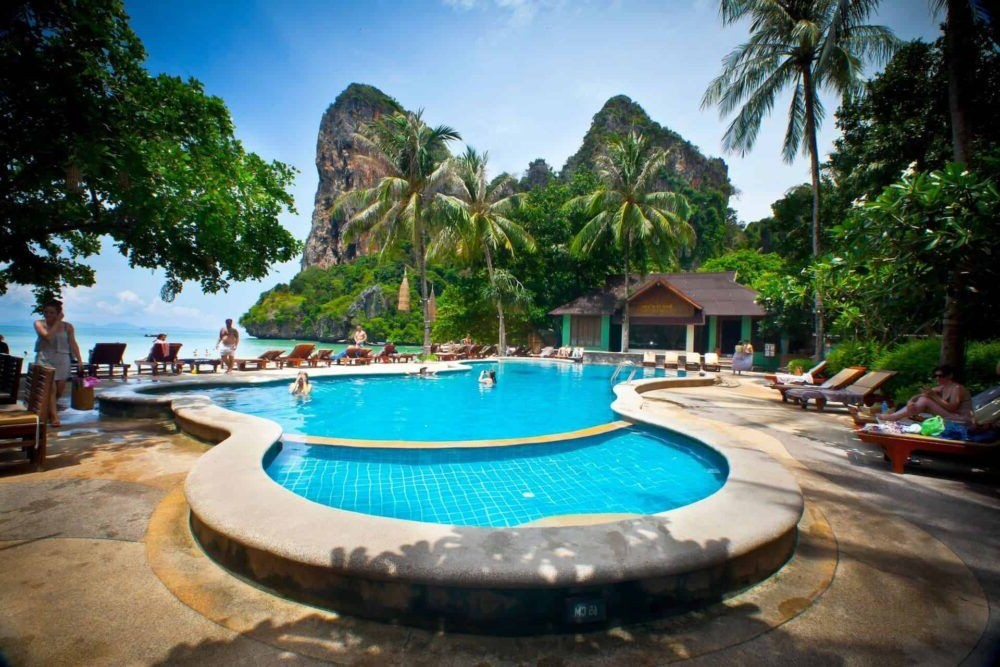 Hospedagem em Railay Bay Resort Spa