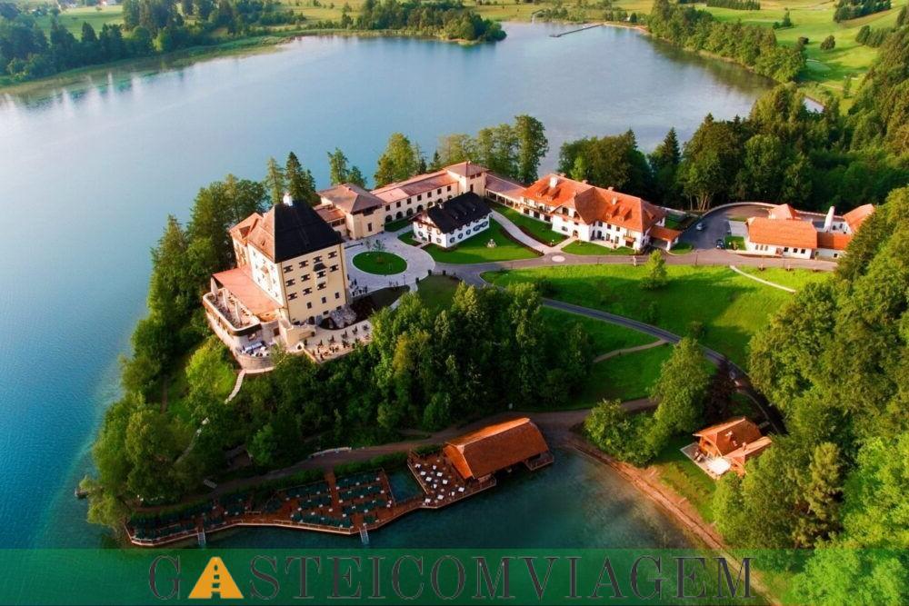 Hospedando Schloss Fuschl