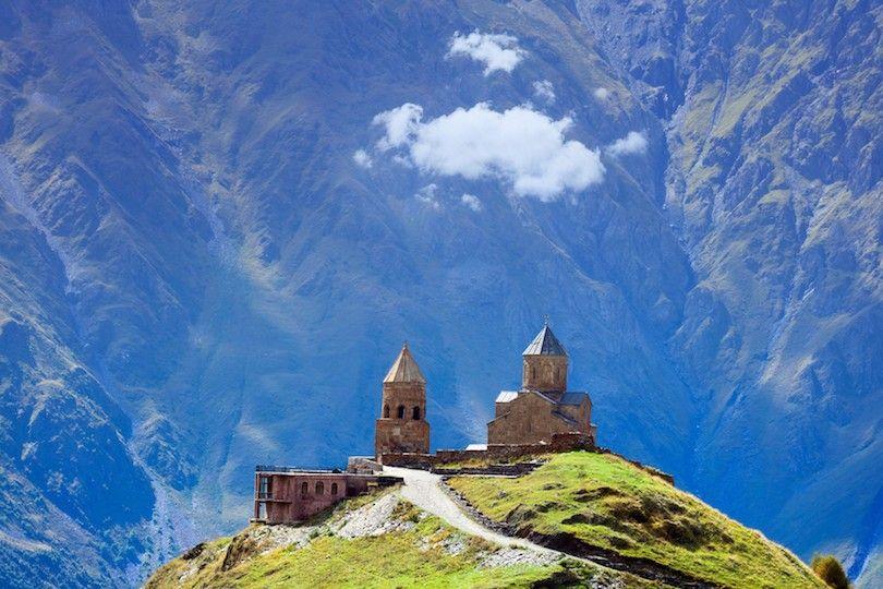 igreja da trindade Gergeti