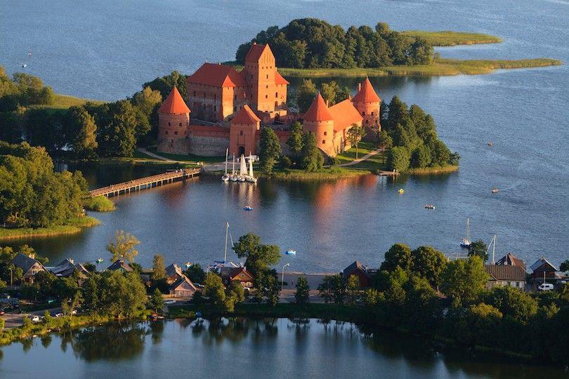 ilha castelo Trakai