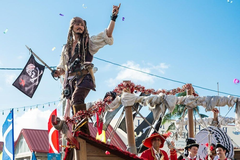 Ilhas Cayman Pirates Week Festival