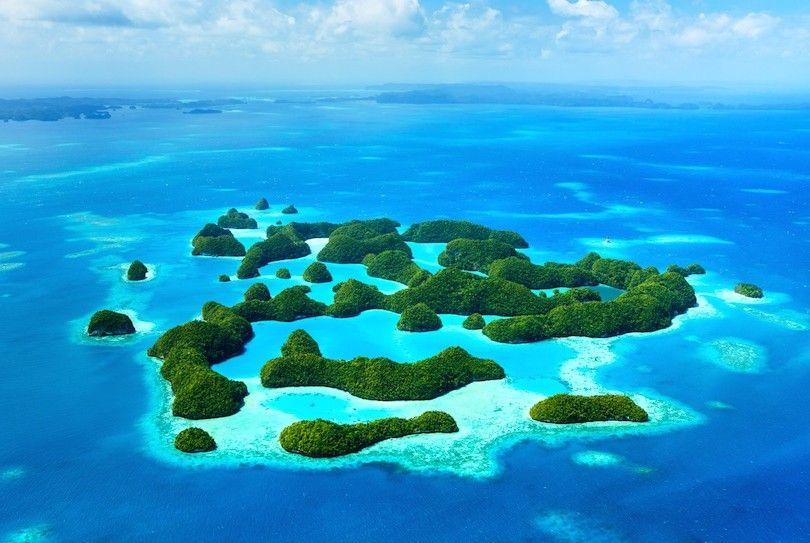 Ilhas rochosas