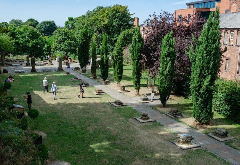 jardins romanos