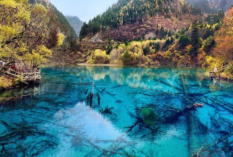 Jiuzhaigou parque nacional