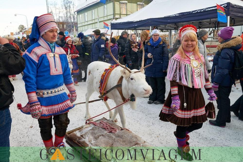 Jokkmokkk Inverno mercado