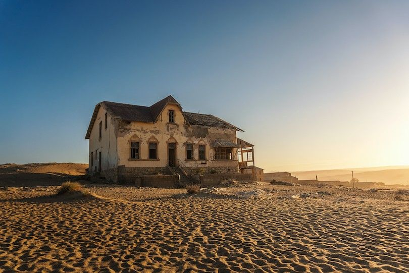 Kolmanskop cidade fantasma