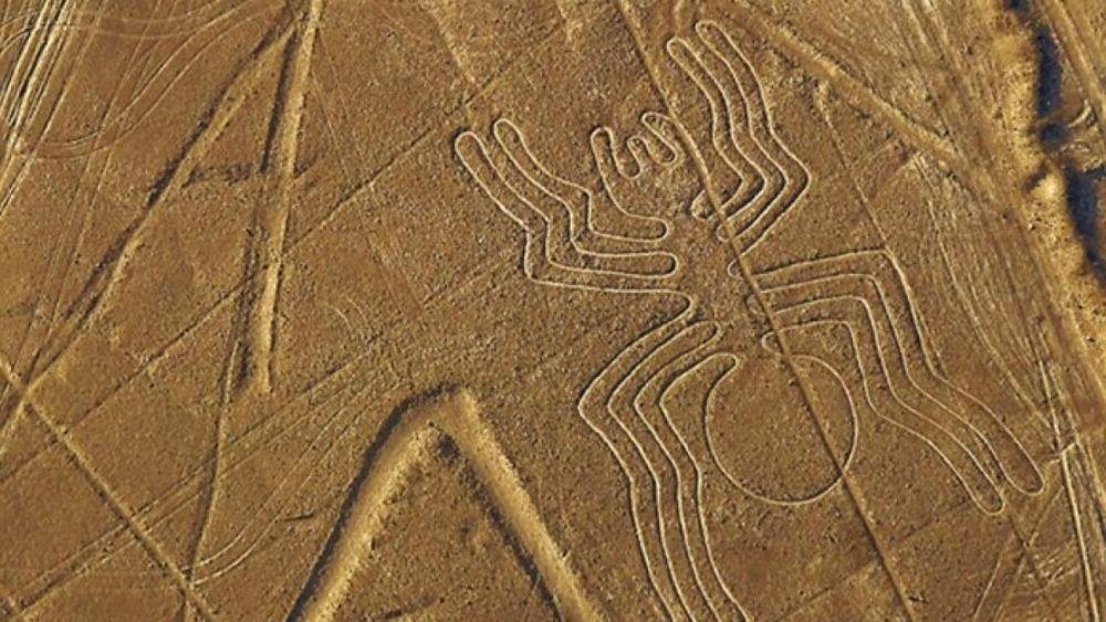 linhas impressionantes do Nazca