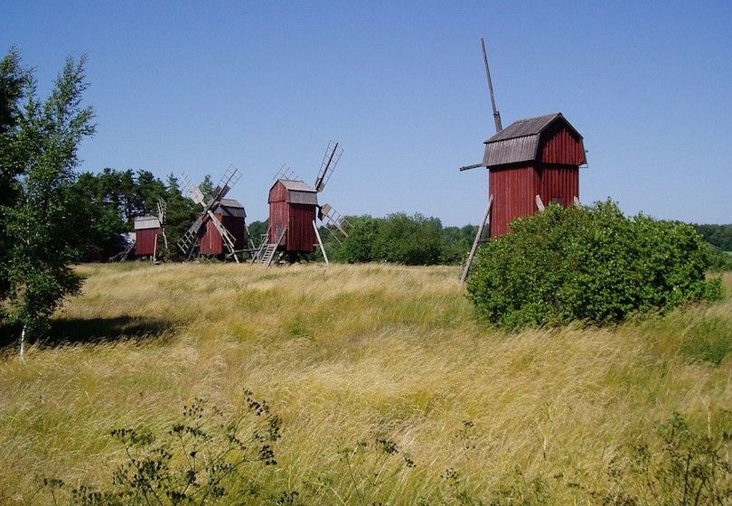 moinhos de vento Oland