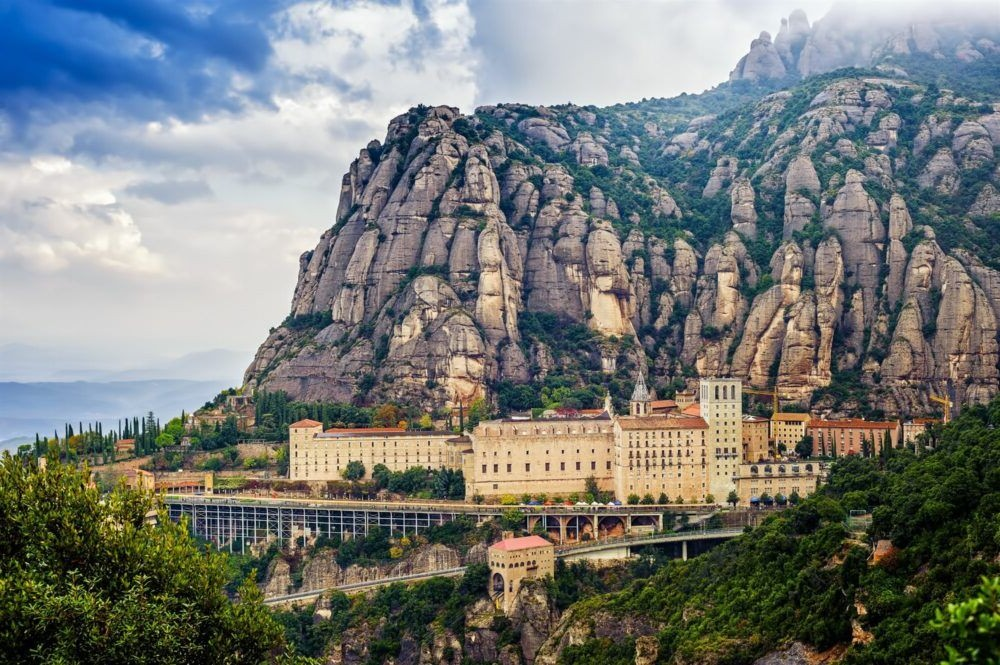 montanha de Montserrat