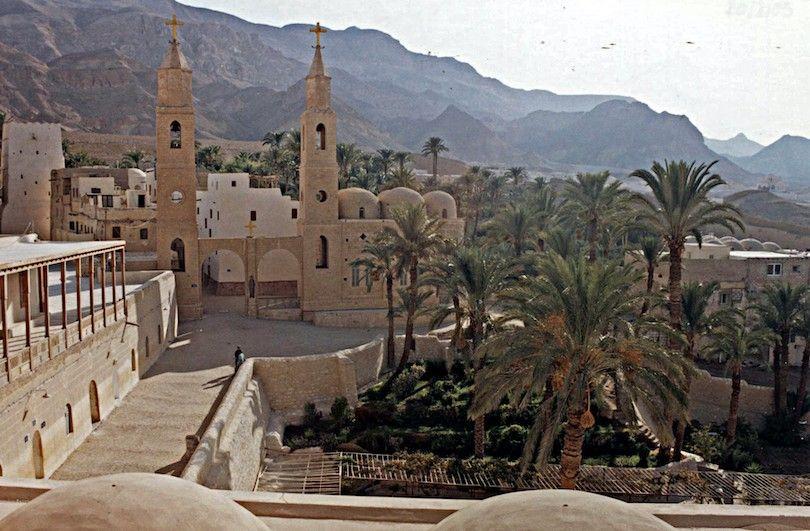 mosteiro de San Antonio Egito