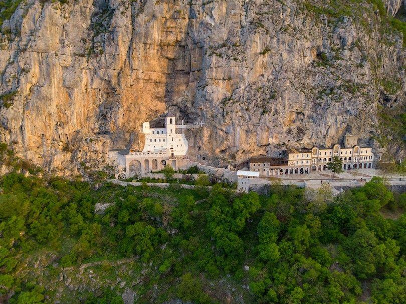 mosteiro Ostrog