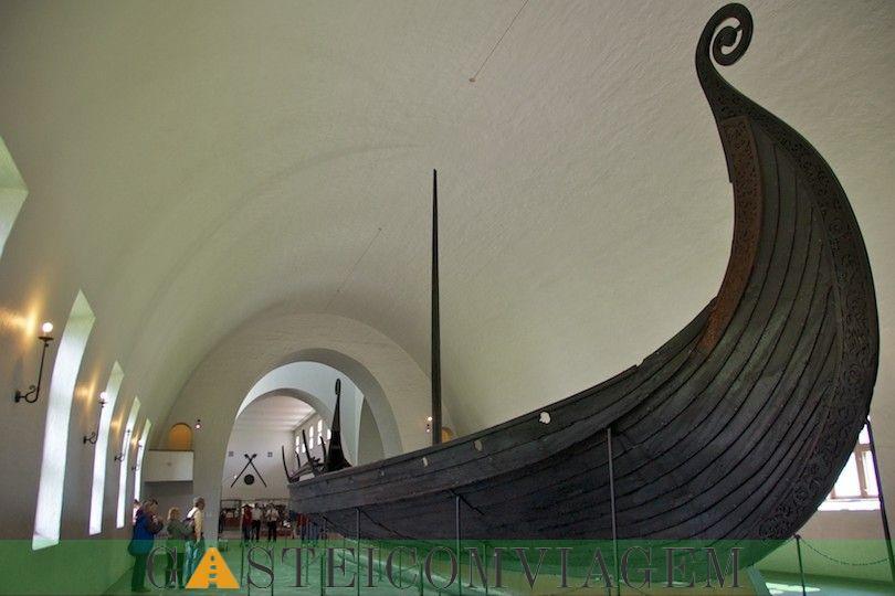 navio Oseberg