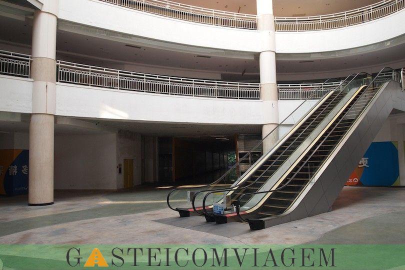 Novo centro comercial no sul da China
