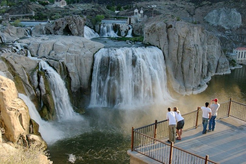 NPS Shoshone falls Park
