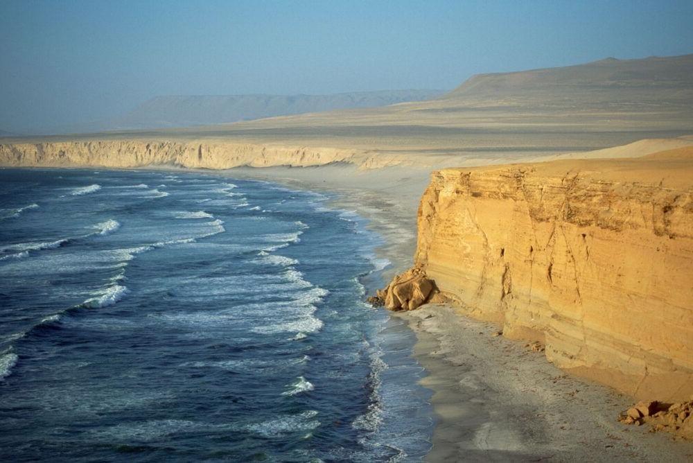 Paracas Sea Cliffs