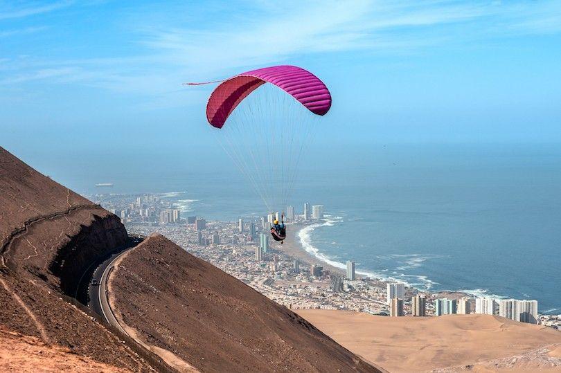 paraglider em Iquique