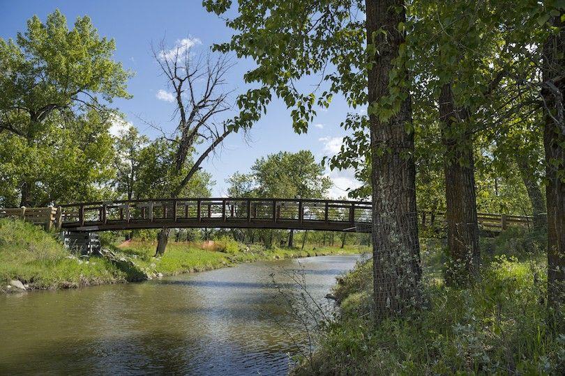 peixe provincial Creek Park