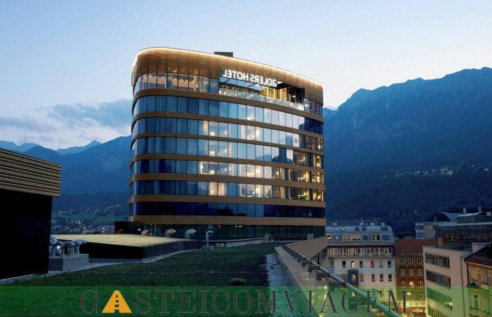Pernoite no Adlers Hotel Innsbruck