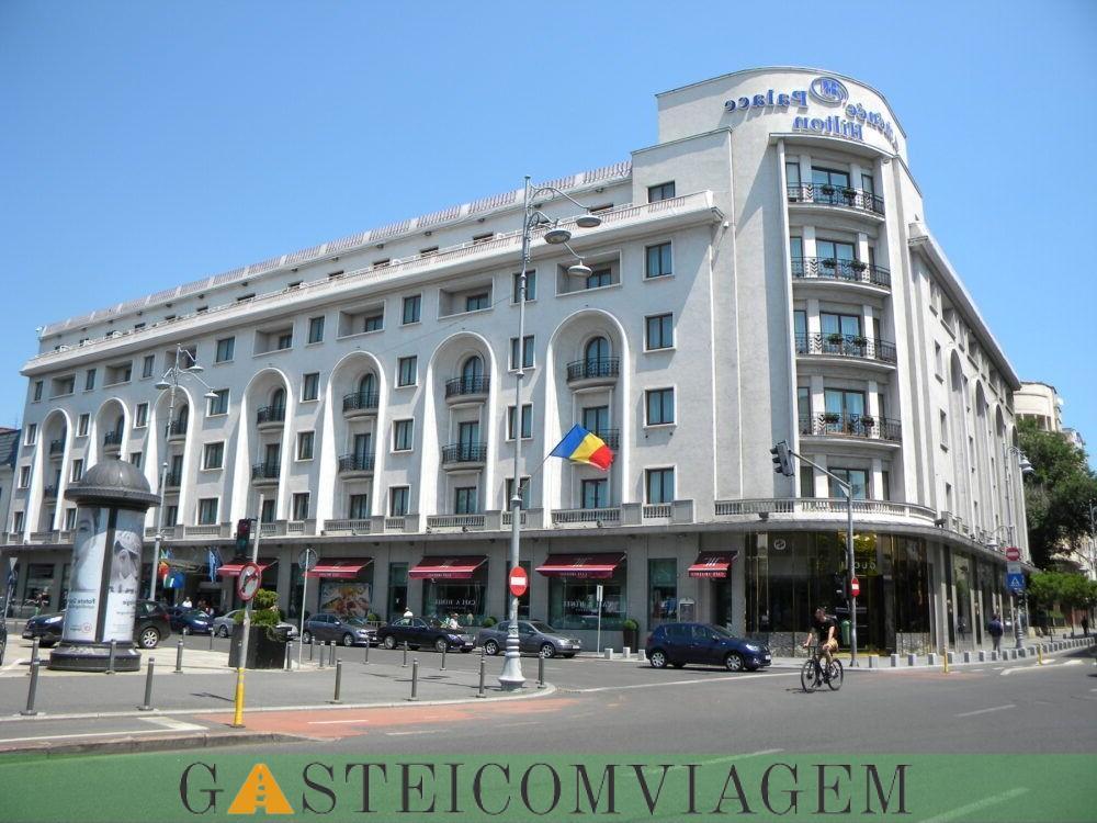 Pernoite no Athenee Palace Hilton Bucharest