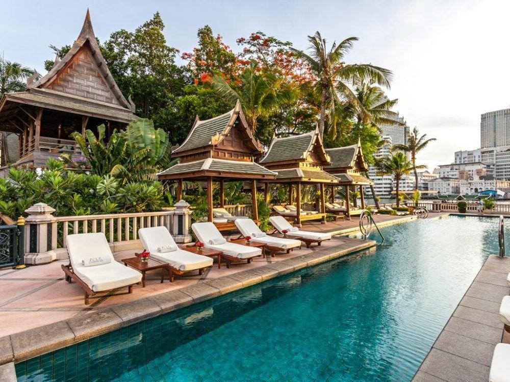 Pernoite no The Peninsula Bangkok