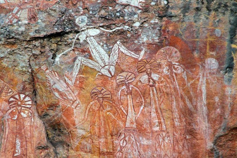 Pinturas rupestres Kakadu