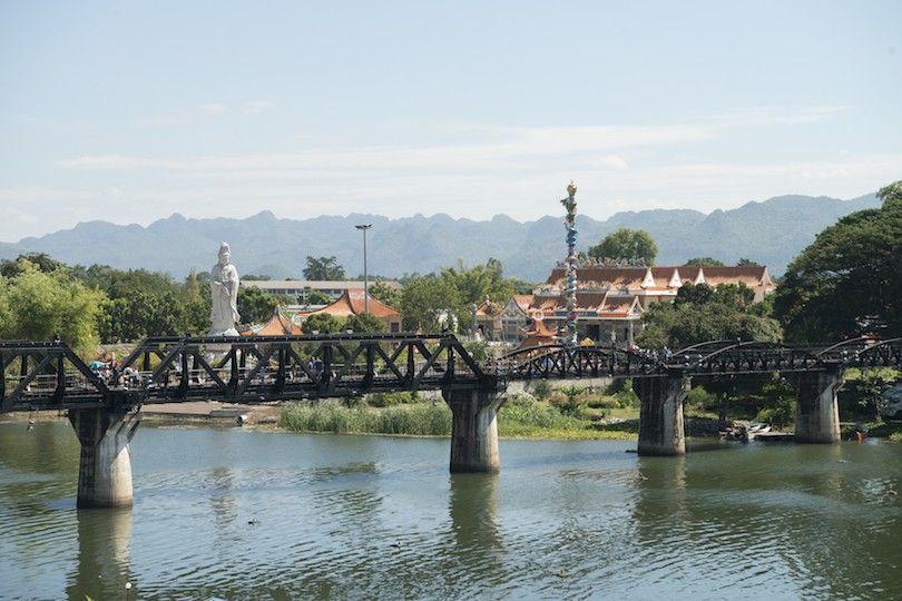Ponte sobre o rio Kwai