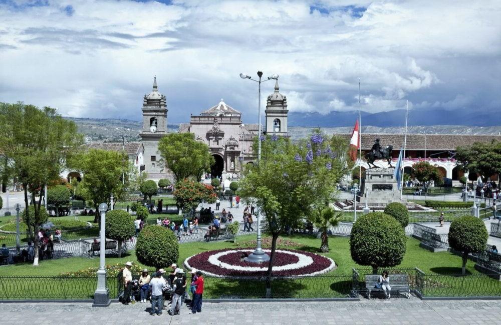 Posto de Ayacucho no Peru