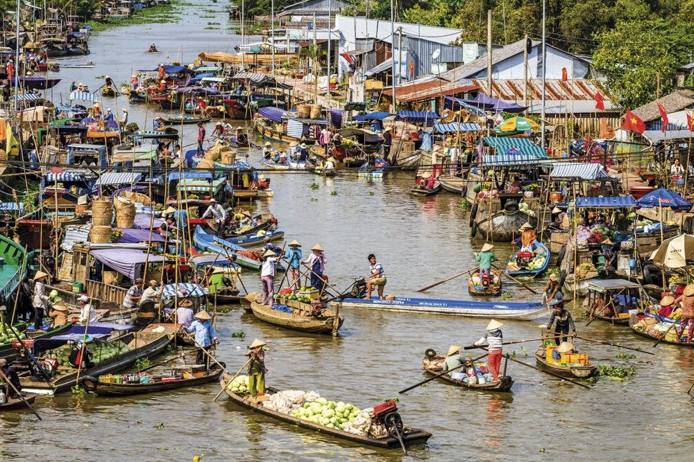 Posto do Delta do Mekong