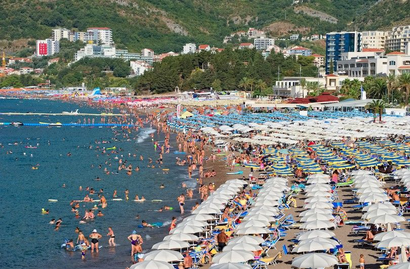 praia Becici