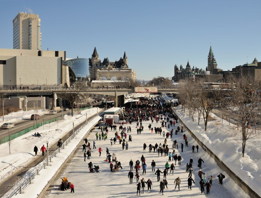 Rideau Canal Skateway Ottawa