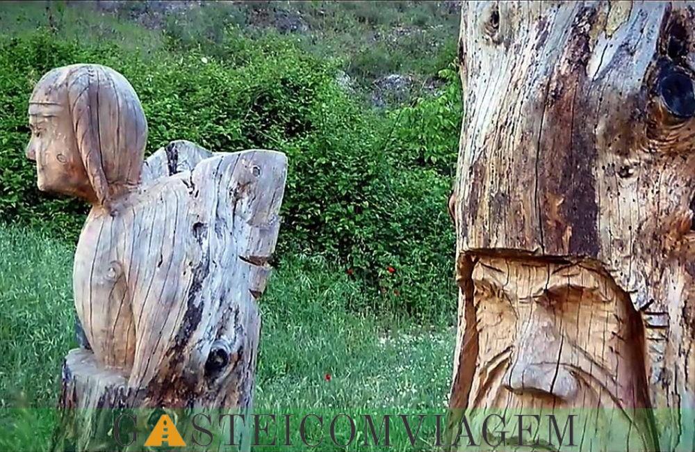 Route esculturas Bogarra