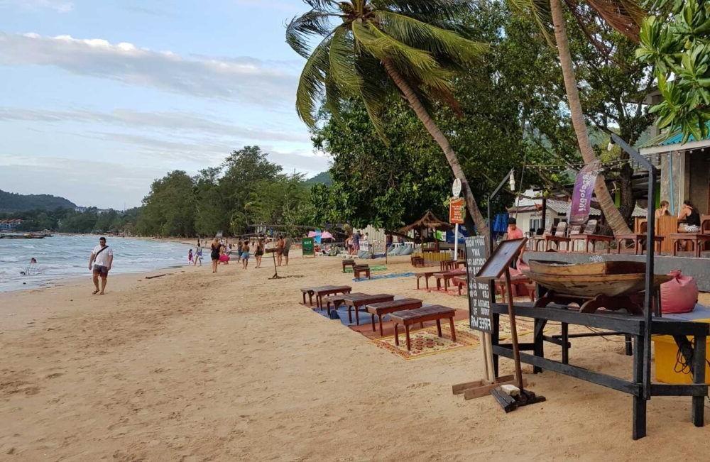 Sairee De praia