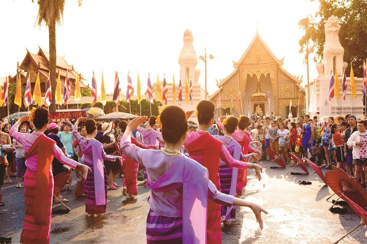 Songkran em Chiang Mai