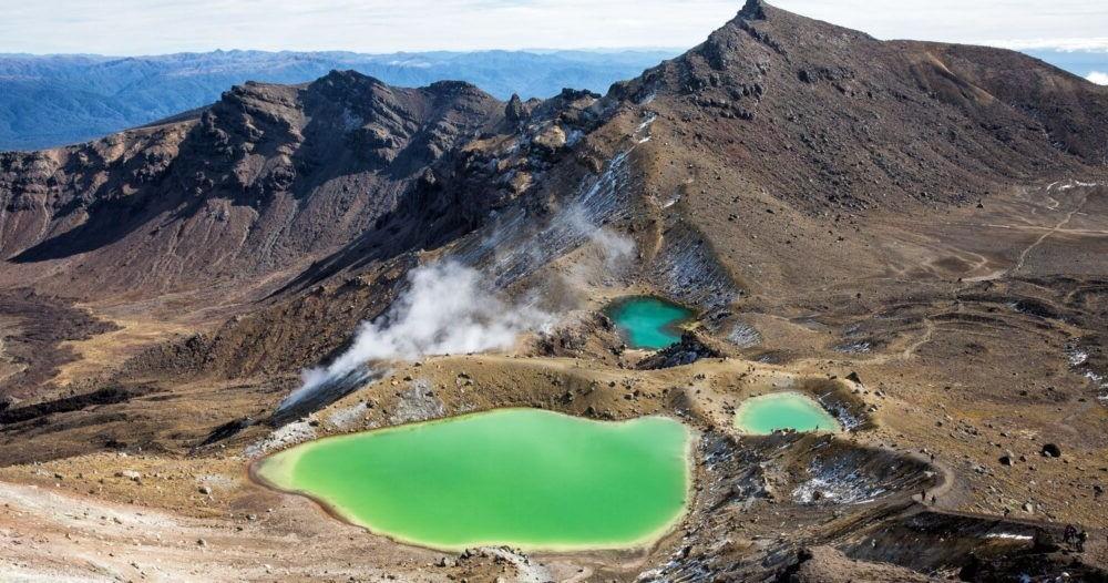 Tongariro Alpine Travessia