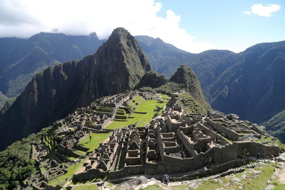 Um bom lugar para visitar em Peru Machu Picchu