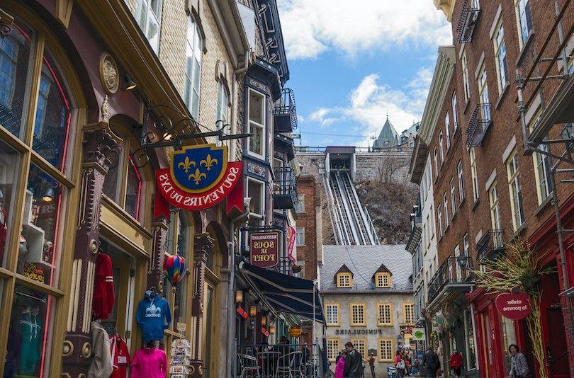 velho funicular Quebec