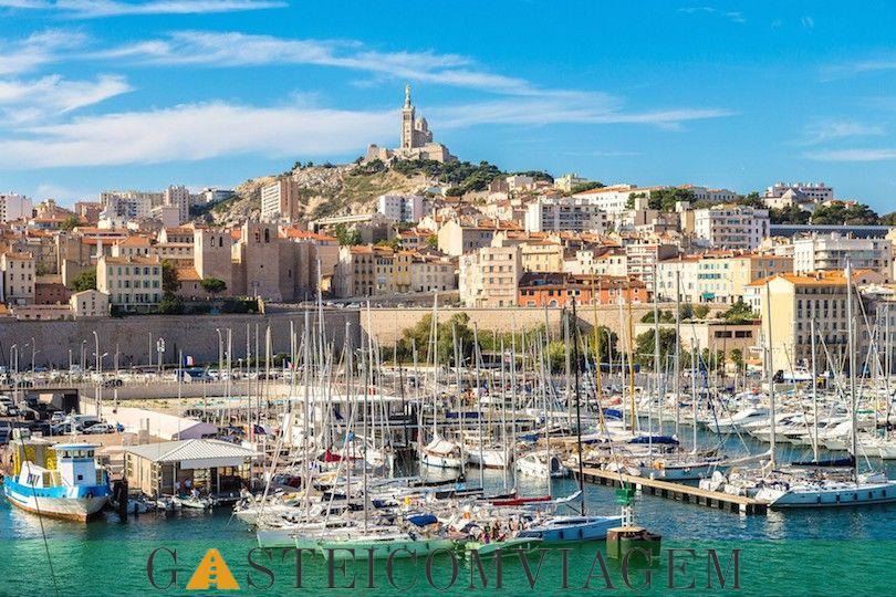 Velho porto Marselha