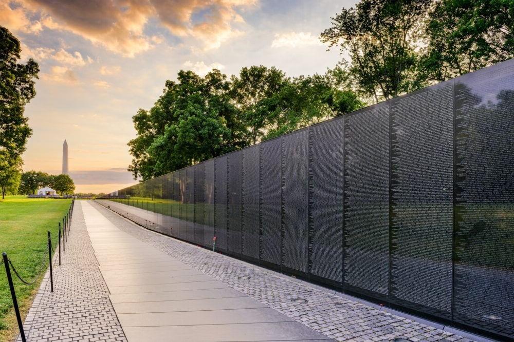 Vietnam Veterans Memorial parede