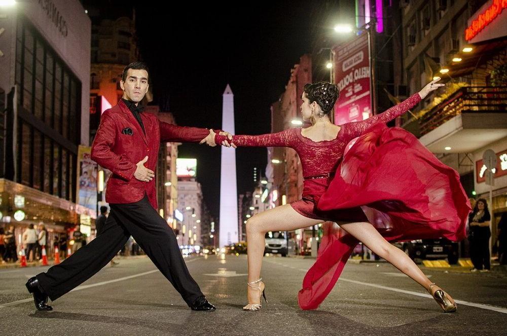 vista da rua Tango Argentina