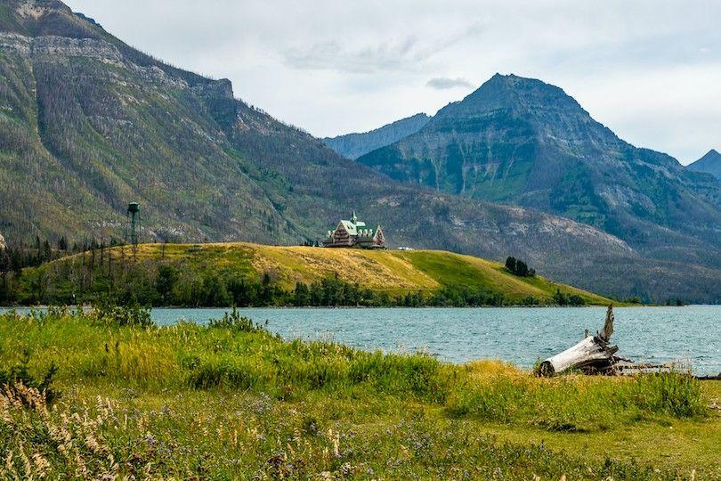 Waterton Glacier park paz internacional