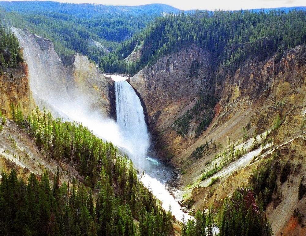 Yellowstone Wyoming Montana Idaho