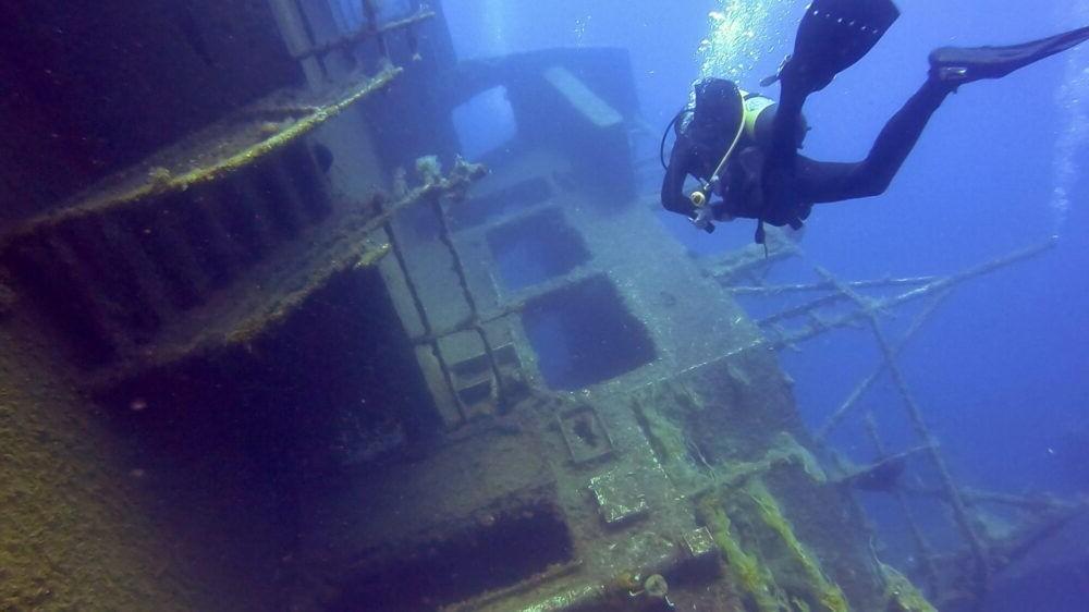 Zenobia Wreck Mergulho